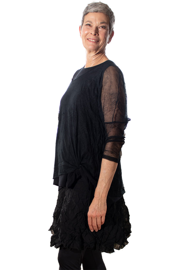 Flossy Frilly Skirt - Ebony - One Size