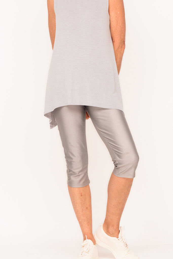 Gigi Knee Length Tights - Cloud - One Size