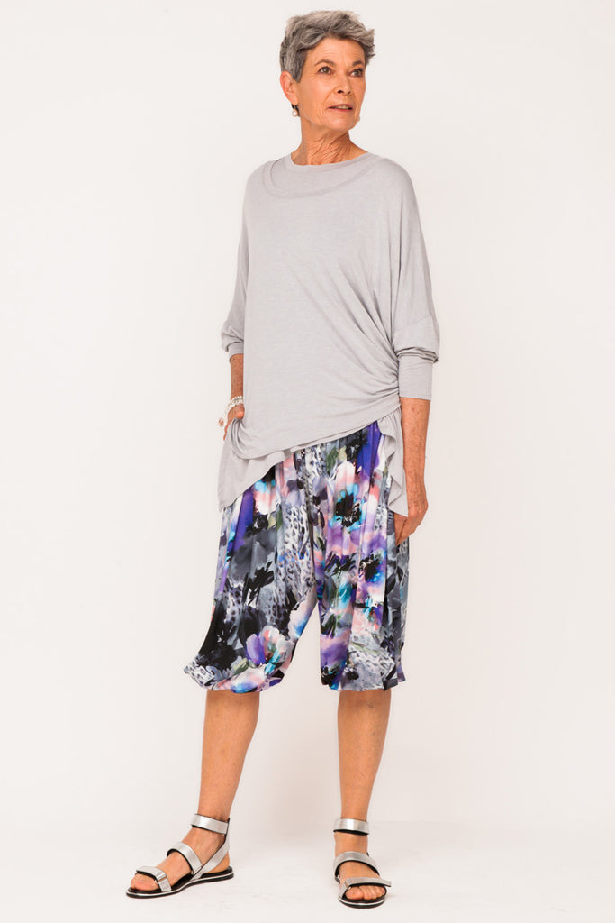 Phyllis Bloomin Active Pants - Mauve Distraction - One Size