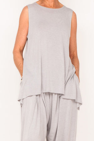 Marigold Sleeveless Tank - Cloud - One Size