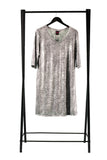 Marilyn Dress Silver Tiger