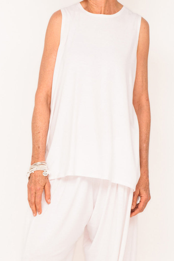 Marigold Sleeveless Tank - Lily - One Size