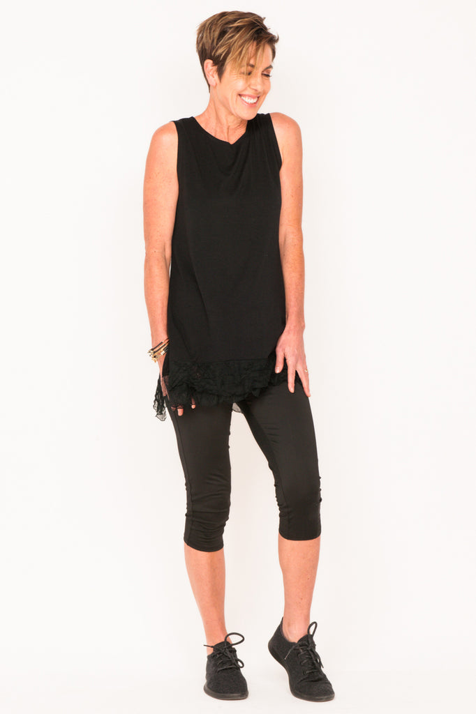 frilly-tank-black-workout-clothes-fashion-over-50