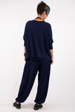 womens-navy-sweater-womens-boxy-tops-ladies-exercise-clothes-mature-womens-fashion