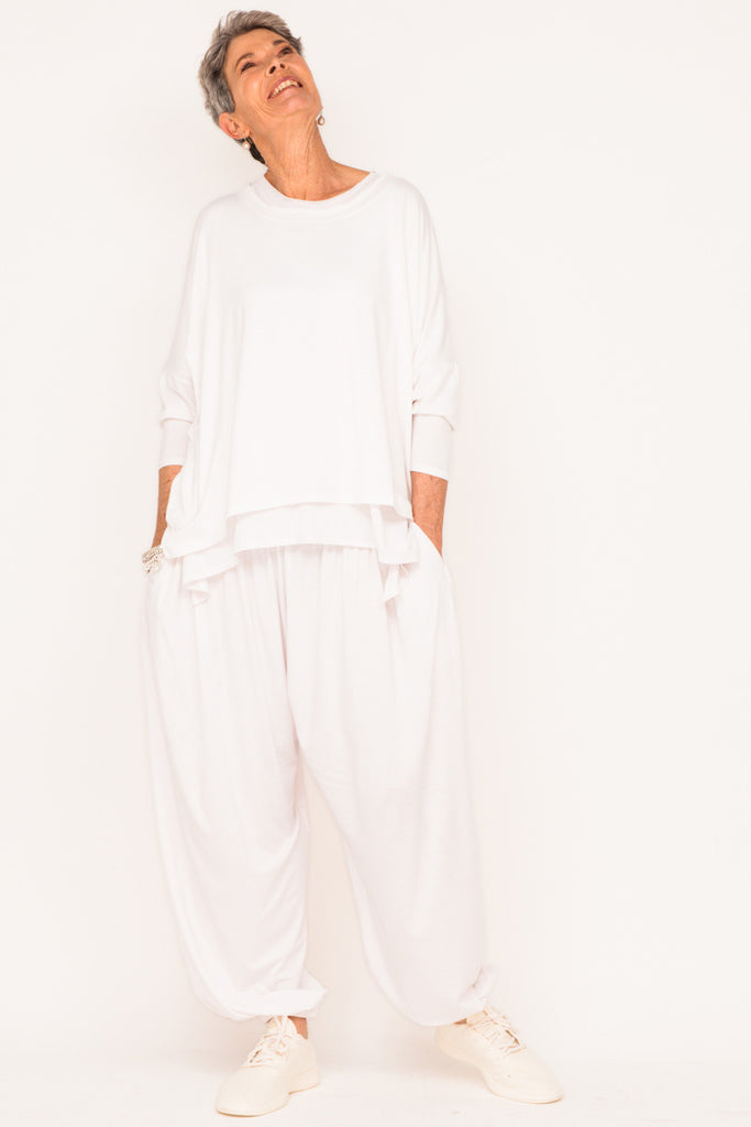 designer-womens-fashion-white-tracksuit-mature-women-menopause