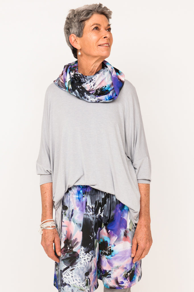 Lola Neck Scarf - Mauve Distraction - One Size
