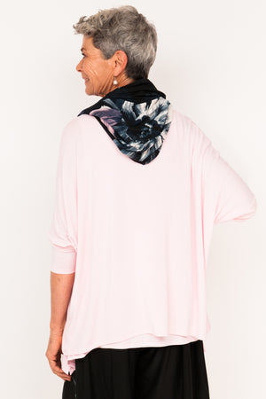 Lola Neck Scarf - Selena Pink Floral - One Size