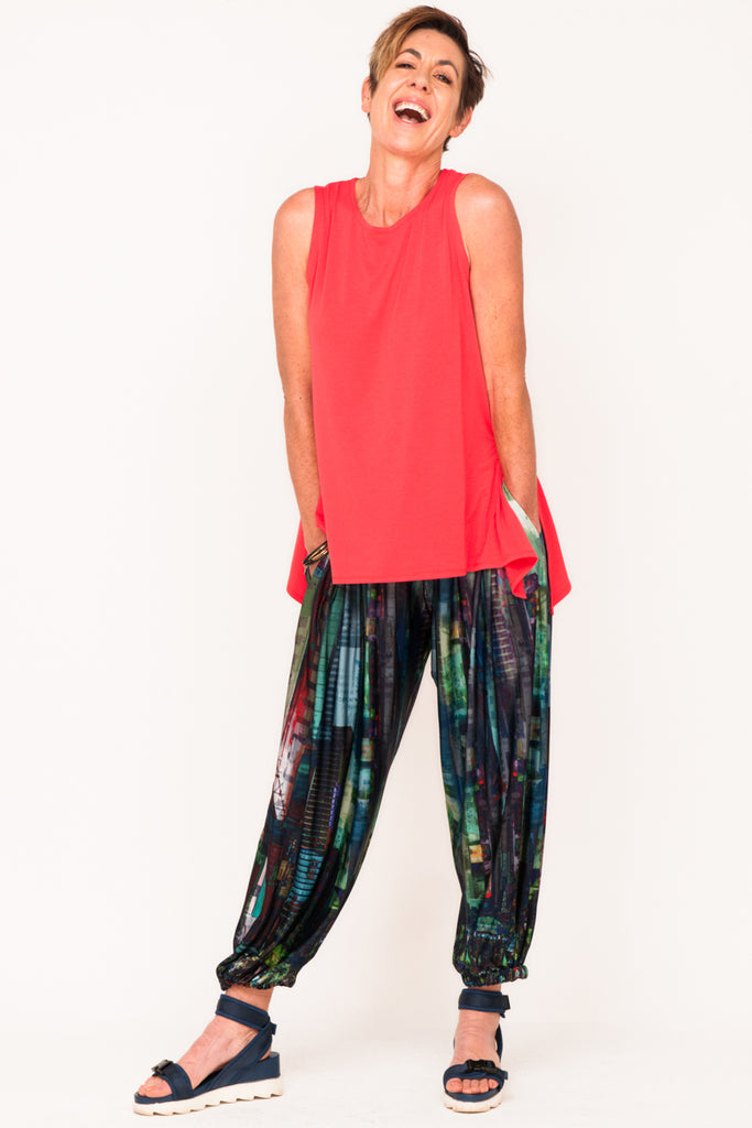 tank-red-track-pant-exercise-clothes-women-over-40