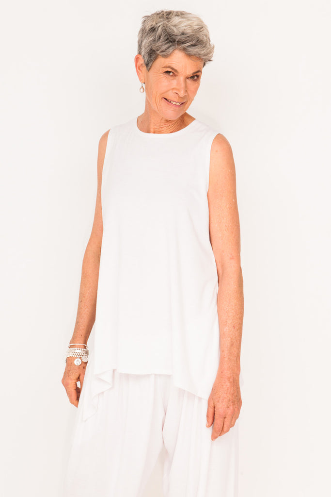 marigold-sleeveless-tank-white-womens-designer-track-suit