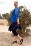 Flossy Frilly Skirt - Midnight Blue - One Size