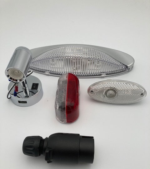 Road Lights, Awning Lamps and Interior Lights