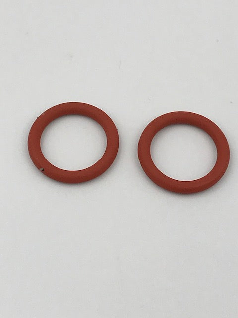 2 X Gas Hob Top O Rings - 14 mm Rubber - 0348 - Caratech Caravan Parts