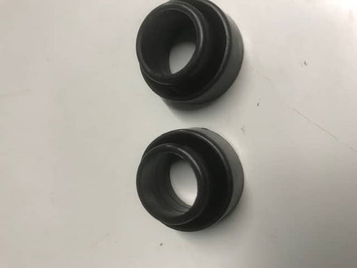 2 x Waste Hose Sealing Sleeves - 23.5mm - Black - 80501 - Caratech Caravan Parts