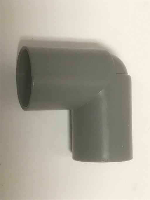Waste Pipe 28 mm - 90 Degree Elbow Push Fit Connection - 81325 - Caratech Caravan Parts