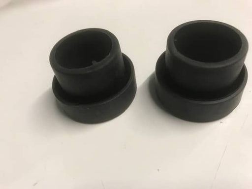 2 x Waste Hose Sealing Sleeves - 28.5mm - Black - 80503 - Caratech Caravan Parts