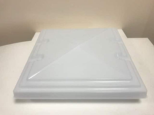 MPK 400 x 400 Replacement Rooflight Dome - White - 900051. - Caratech Caravan Parts