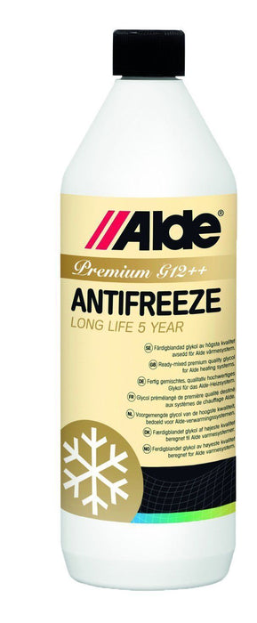 Alde Premium G13 Antifreeze  -1 litre - 4070 120. - Caratech Caravan Parts