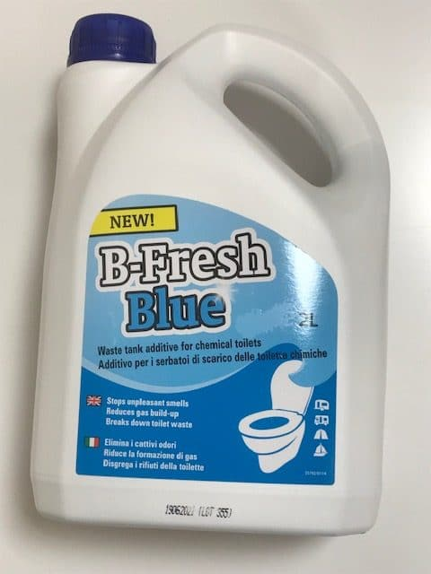 B-Fresh Toilet Kem - Blue Kem - 2lt. - Caratech Caravan Parts