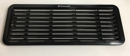 Dometic Fridge Lower Grill / Vent + Mesh - AS1630 - Black - 9500000945 - Caratech Caravan Parts