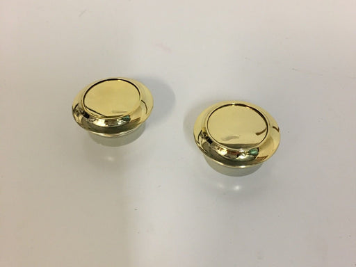2 X Large Push Button Locker Knobs – Gold - 01595T51698
