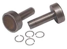 Alko AKS 1300 Stabiliser Friction Pads and Spring Clips - 0106 - Caratech Caravan Parts
