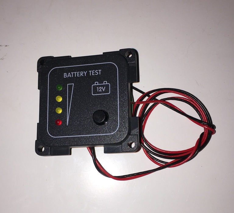 Battery Voltage Meter LED Indicator - CBE - 270542 - Caratech Caravan Parts