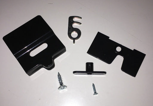 Dometic Fridge Door Catch -Series RM 7 - Black – 2412757870 - Caratech Caravan Parts