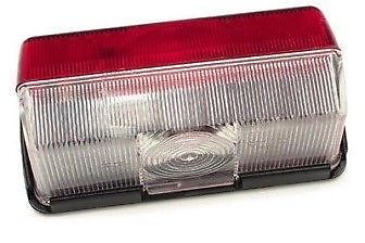 Jokon Side Marker Light – Red/Clear Lense  – EL54B - Caratech Caravan Parts