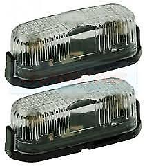 2 Front Marker Lamps Complete – Jokon PL96 Model - Caratech Caravan Parts