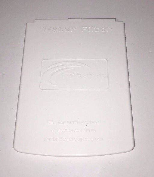 Truma / Carver / Filtapac Filter Housing Lid -White- FL106W - Caratech Caravan Parts