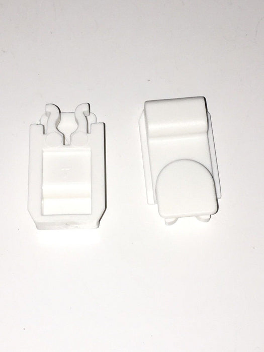 Dometic Fridge Vent Locking Sliders x 2 -White - 44990001164