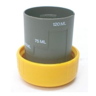Thetford Cassette Toilet Measuring Cup / Cap - Yellow - 2581078 - Caratech Caravan Parts