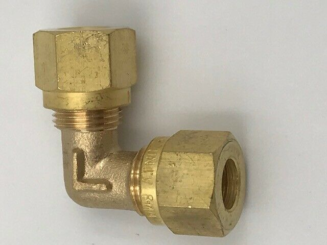 LPG Gas 8 mm to 8 mm - Elbow - ME108