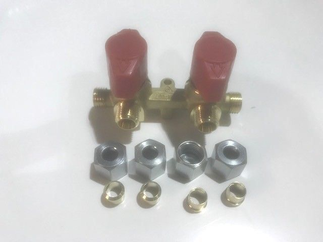 LPG Double Manifold Isolater Valve - 8 mm - R43102