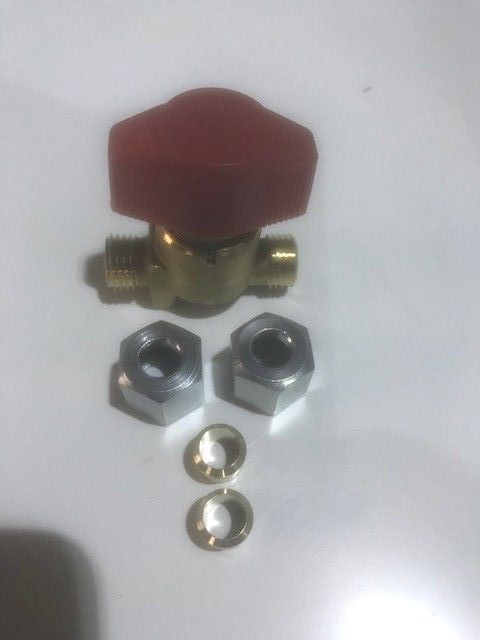 LPG Single Manifold Gas Isolater Valve - 8 mm - R43101.