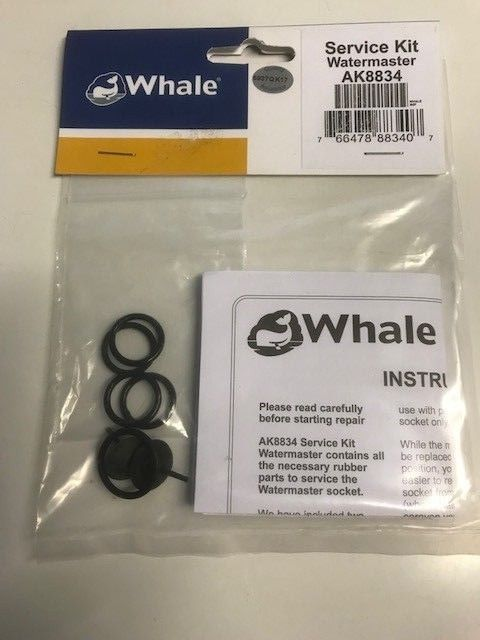 Whale Watermaster Socket Service Kit - AK8834 - Caratech Caravan Parts