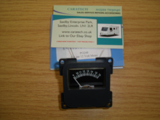 C-Line - Battery Voltage Meter -12 Volt - PO248