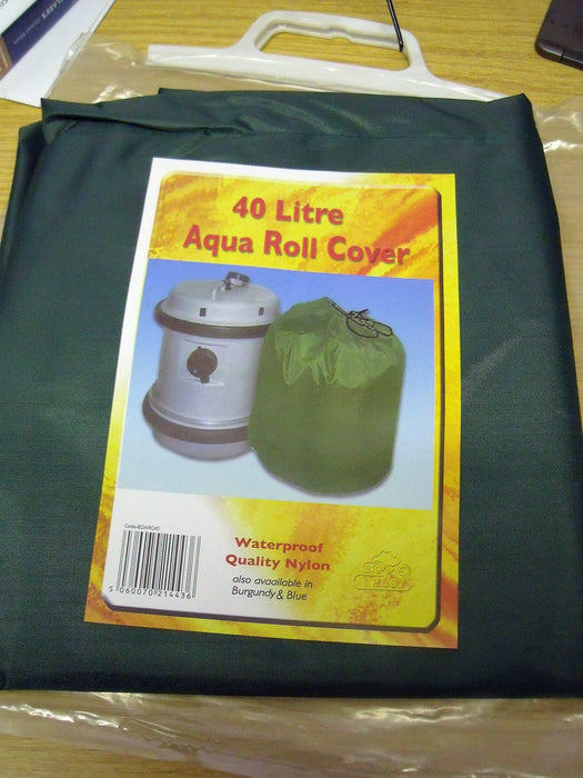 40 Litre Aqua Roll Cover - Green - Caratech Caravan Parts