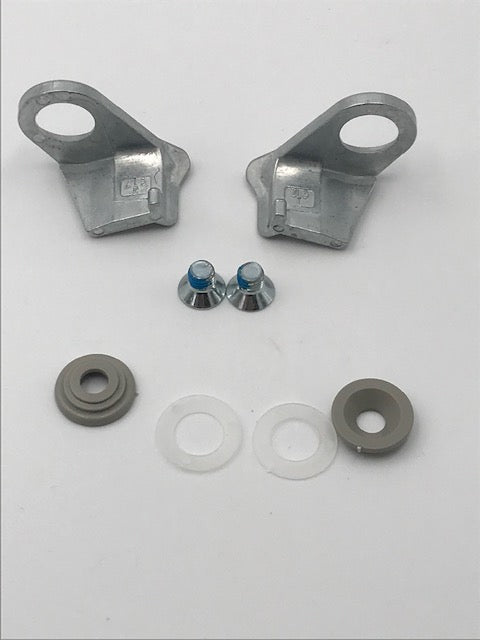 Dometic Fridge Door Lock Kit - Metal - RM6 Models - 2412345700 - Caratech Caravan Parts