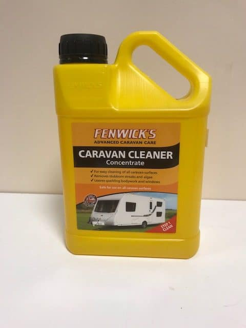 Fenwicks Caravan Cleaner / Wash Concentrate -1lt. - Caratech Caravan Parts