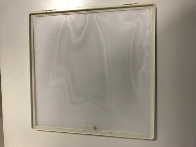 MPK White Replacement Flynet - 400 x 400mm - 900046 - Caratech Caravan Parts