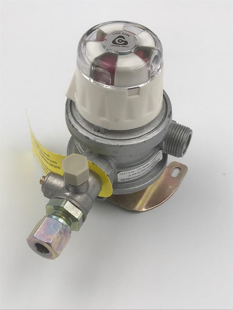 Gas Regulator 0.716 bar 1.5 kg/h - Type 42N - 12864 - Caratech Caravan Parts