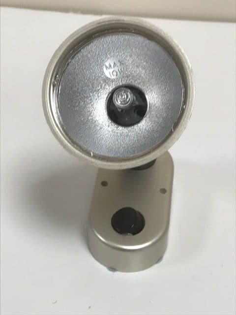 Mini 12 V Switched 10 W Spotlight - Silversand - PO728 - Caratech Caravan Parts