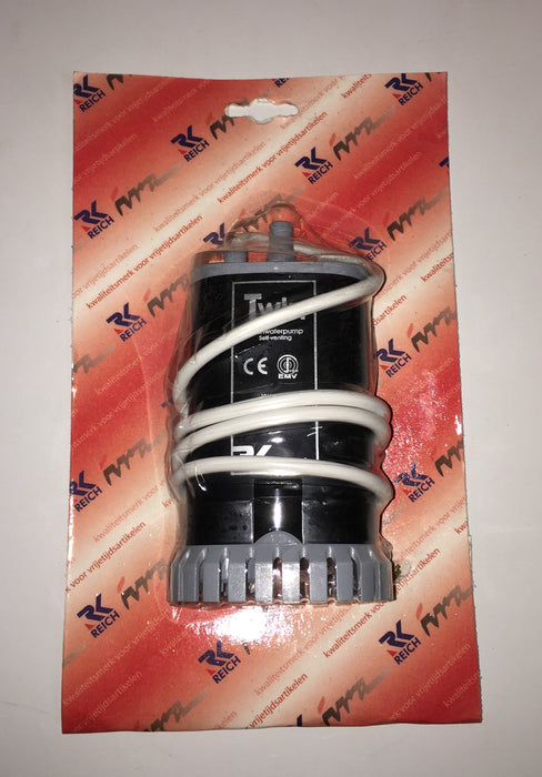 Reich 19Ltr Twin Submersible Pump Without Non Return Valve - Caratech Caravan Parts