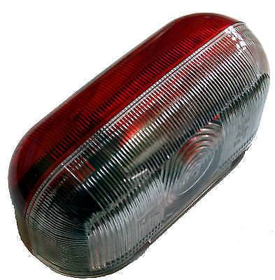 Side Marker Lamp Complete – Red/Clear – Jokon SPL2000 - 0726 Jokon