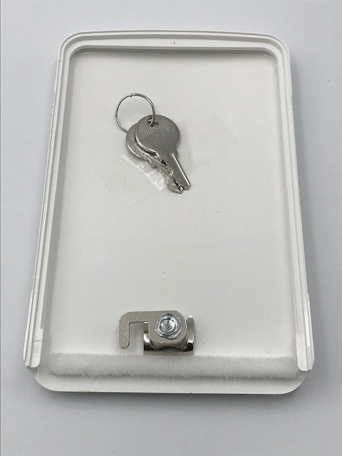 Whale Easi Slide Water Locking Filler Lid with Keys - AK1432C - Caratech Caravan Parts