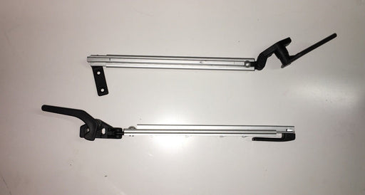 PP1400 Polyplastic Window Stay 140mm Right Hand Tube Stay Black End Perma-fix