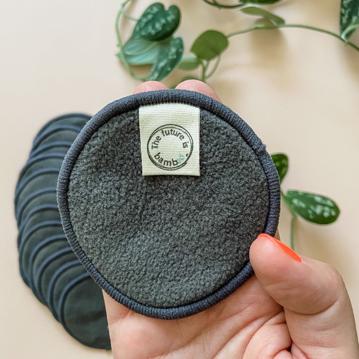 Bamboo Charcoal Facial Rounds <br> REFILL KIT