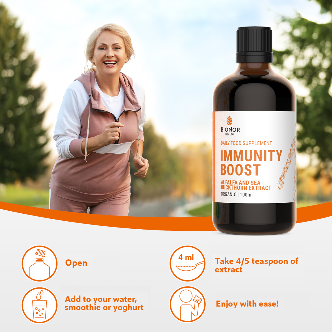 Immunity Boost with added Blood & Liver Purification benefits - BioNor Health
