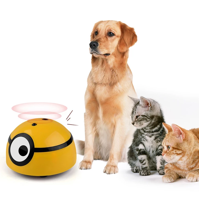 Minion Toy Self Moving Ball - Shop pets food, toys & clothing | Dog & Cat Supplies and Accessories!